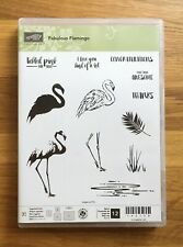 Stampin' Up! Fabulous Flamingo Photopolymer Stamp Set Brand New