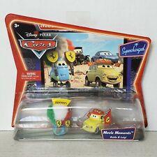 Disney Pixar Cars Supercharged Movie Moments Guido & Luigi New