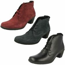 Women's Cuban Lace Up Ankle Boots