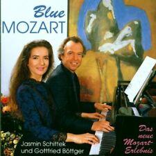 Gottfried Böttger + CD + Blue Mozart (1991, & Jasmin Schittek)