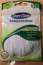 Zahnstocher mit bürstenden Enden-  DenTek - 150 Stk. Packung