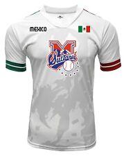 Jersey Mexico Sultanes de Monterrey 100% Polyester White/Grey_Made in Mexico