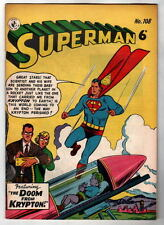 Australian SUPERMAN 108 DC Comics 1950's UK