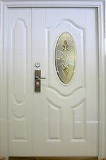 Wohnungstür,Haustür,Sicherheitstür,Stahltür,Türen,Innen Links 1400x2050mm,Weiß