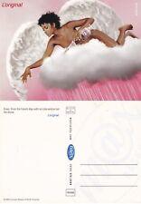 EVIAN L'ORIGINAL UNUSED ADVERTISING COLOUR POSTCARD (b)