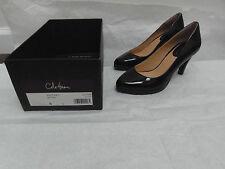 Cole Haan Women's Rea Pump II Low HEELS in Patent Brown Leather Size 6