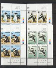 Namibia 1997 Jackass PENGUINS/WWF/Birds 4v c/b (n16647)