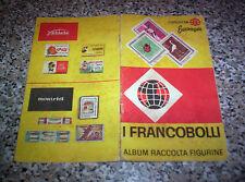 ALBUM I FRANCOBOLLI ED.FERRERO 1963 CON 10 FIGURINE NO PANINI LAMPO EDIS MIRA