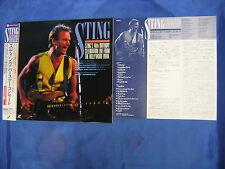 STING 40th Birthday Celebration 1992 Japanese Laserdisc 110 min. Andy Summers