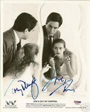 Tony Danza & Ami Dolenz Auto'd 8x10 Photo PSA/DNA COA