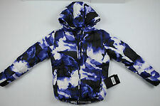 Volkl Silver Mirror Down jacket Lilac Print Women's 10 NWT