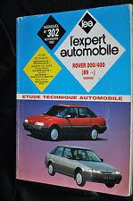 Revue technique automobile Rover série 200/400 essence et diesel N° 302