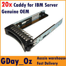 """8x 2.5"""" IBM Server HDD Caddy Tray Sled 44T2216 for System X and BLADECENTER"""