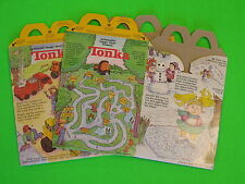 1994 McDonalds HM Boxes - Tonka / Cabbage Patch - set of 2 *Canadian*
