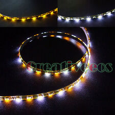 2x 60CM 60LEDs SMD 335 Side-emitting DRL Driving LED STRIP +Turn Signal Lights