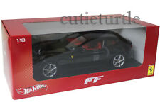 Hot Wheels Ferrari FF V12 Four Seater 1:18 Diecast Black X5526