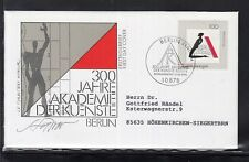 LA 043 ) Germany 1996 - 300 years Academy of Arts, Berlin of beautiful FDC