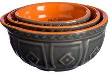 Mason Cash Hacienda 3 Piece Baking Measuring Cup Set