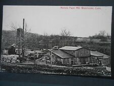 4 Photo Style Postcards Norton'S Paper Mill Westchester Connecticut Middletown