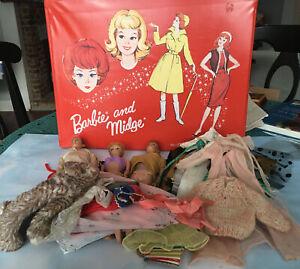 Vintage Barbie , Ken & Allen Case Lot