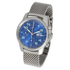 Aristo Herren Armbanduhr Automatik Chronograph 4H174M ETA7750 Valjoux poliert