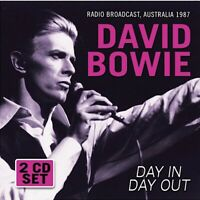 DAY IN DAY OUT – RADIO BROADCAST (2CD)  by DAVID BOWIE  Compact Disc Double Set
