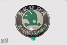 Original skoda emblema para superb 3u portón trasero caracteres pegatinas atrás nuevo
