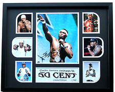New 50 Cent Signed Limited Edition Memorabilia