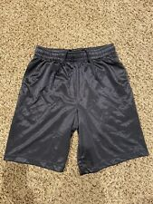 Starter Mens Athletic Basketball Shorts Gray Size 28-30 Small