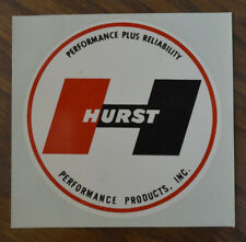 ORIGINAL VINTAGE HURST WATER DECAL HOT ROD SCTA DRAG RACING NHRA GASSER OLD VW
