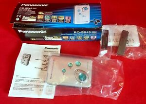 Walkman - Panasonic Siereo Cassette Player- RQ - SX43  S - XBS - Neuwertig!