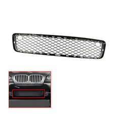 New Front Lower Bumper Grille Matte Black fit BMW X5 2007-2010 51117163956