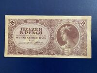 HUNGARY 10,000 B-PENGO 1946 - VERY FINE(3)