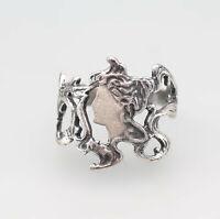9901720 925er Silber Ring nach Mucha Jugendstil-Schönheit Gr.53