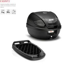 E300NT2 GIVI BAULETTO 30LT MONOLOCK NERO GOFFRATO CHIUSURA MICRO 2