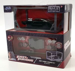 Jada 1/55 Scale Model Car Kit 31148 - Dodge Charger R/T Dom Fast & Furious