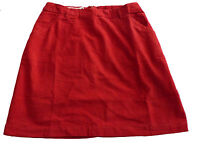 NEW SEASALT NEW SEASALT RED NEEDLE CORD COTTON SKIRT 8 10 12 14 16 18 20