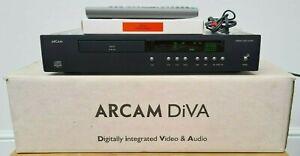 ARCAM DIVA CD72 24 BIT BURR BROWN DAC CD TEXT CD PLAYER & REMOTE & BOX Exc COND