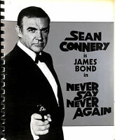 Never Say Never Again: Production Information and Biographical Detail  on Sean..