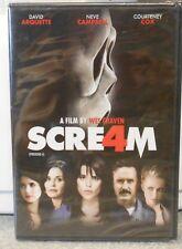 Scream 4 (DVD, 2011) RARE HORROR BRAND NEW