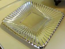 REED & BARTON STERLING SILVER X300 SQUARE SANDWICH PLATE
