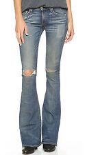 rag & bone Women's Elephant Bell Distressed Jeans Size 30 NEW