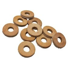 Leather Washers 3/8 inch Hole 10 pack chopper bobber gas tank hardtail fuel bung
