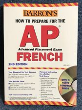 (2nd Edition) 2004 ​Barron's How to Prepare for the AP French with (3) Audio CDs