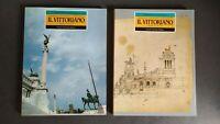 IL VITTORIANO. Materiali per una storia - 2 voll. 1986, come NUOVO
