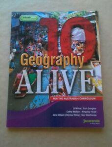 Geography Alive 10 for the Australian Curriculum Jacaranda student textbook
