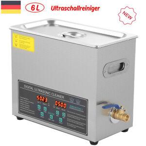 6L Ultraschallreiniger Ultraschallreinigungsmaschine Zweifrequente Edelstahl