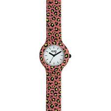 Reloj HIP HOP POP JUNGLE HWU0935 Small 32mm Silicona Rosa Blanco