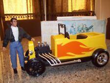 Vintage 1977 Mego Fonzie and Fonzie's Jalopy Happy Days with Box