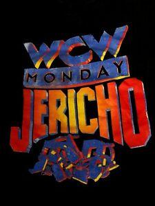 VTG 1990s WCW Monday Chris Jericho TNT Network Wrestling T-Shirt